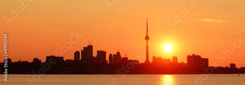 Papiers peints Toronto Toronto sunrise