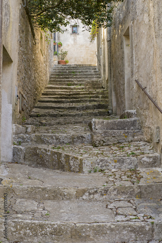 Cadres-photo bureau Ruelle etroite italian foreshortening