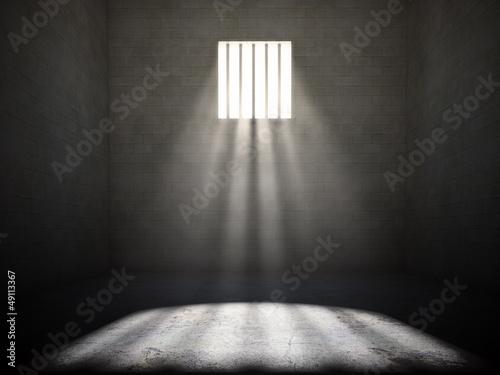 Photo  Interior of a prison cell