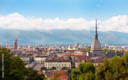 Photo  Cityscape of Turin