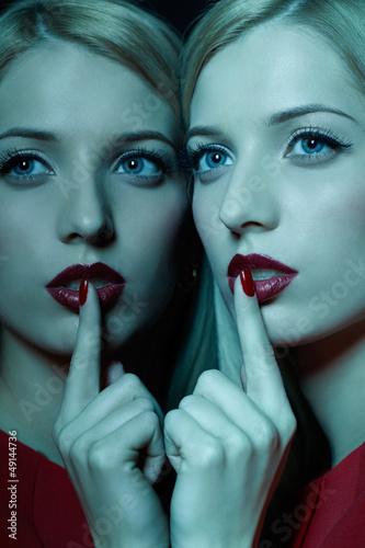 Fotografering  silence