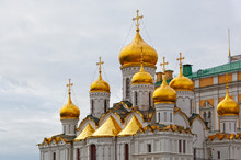 Arkhangelsk Cathedral In Kreml...