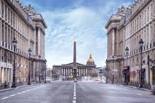 Assemblée Nationale Et Place De La Concorde