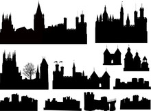 Set Of Isolated Castles And Towers