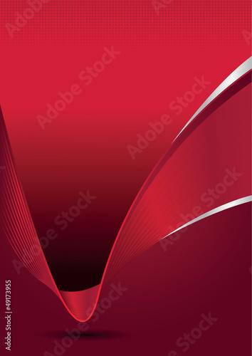 wektorowy-abstrakcjonistyczny-elegancki-czerwony-tlo