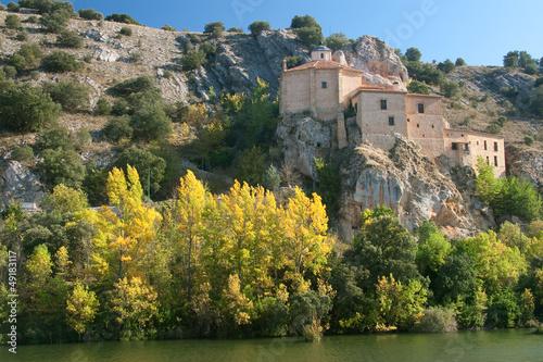 Ermitage of San Saturio, Soria, Castilla y Leon, Spain