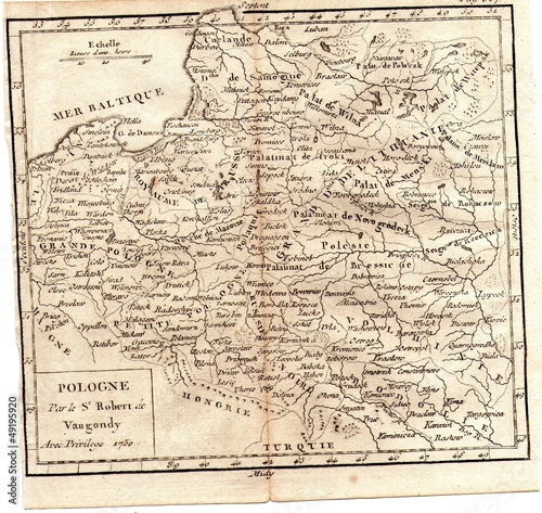 Poland old map - Buy this stock photo and explore similar ... on