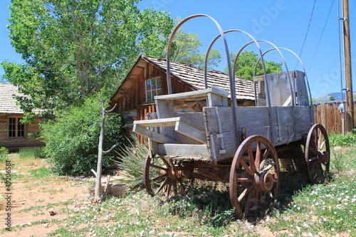 Fotografie, Obraz  Carro del Vecchio West