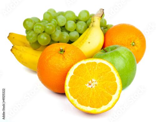 Früchte Freisteller I Poster