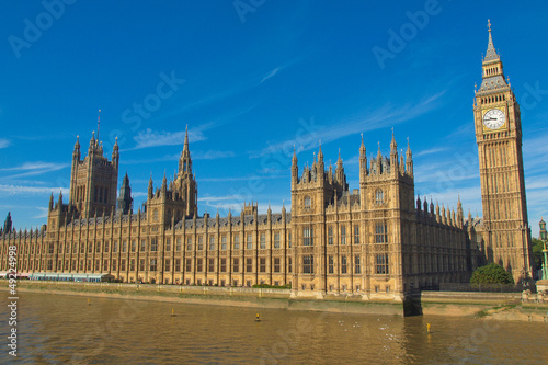 Poster Londres Houses of Parliament