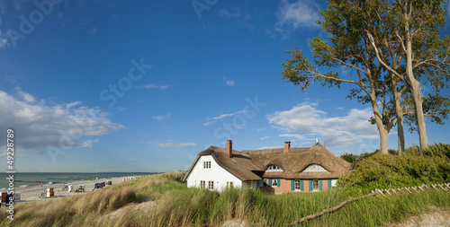 Ahrenshoop, Haus in Dünen, Grenzhaus, Darss, Ostsee