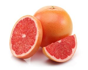 Slice and Half Grapefruit