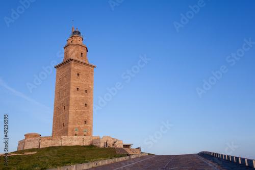 Hercules tower, La Coruña, Galicia, Spain