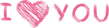I Love You - Pink - Liebe - He...