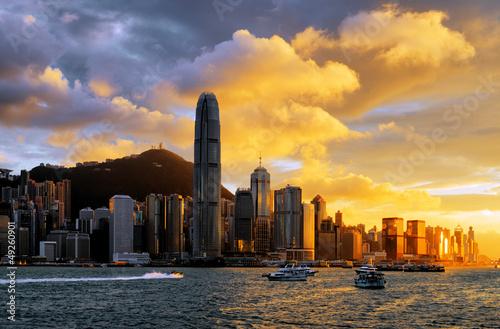 Foto auf Leinwand Hongkong Hong Kong