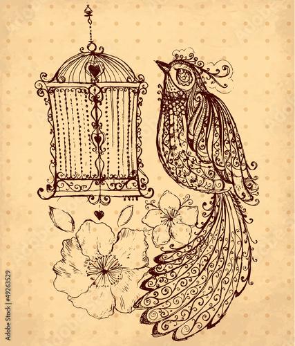 vector-hand-drawn-illustration-with-bird