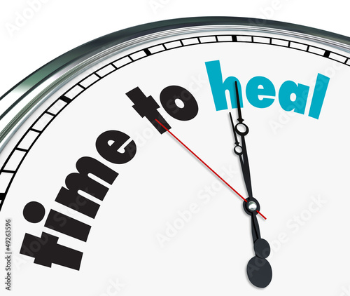 Fotografia Time to Heal - Ornate Clock