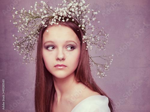 Fototapety, obrazy: Beautiful Forest Fairy