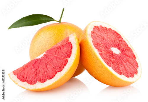 ripe grapefruits