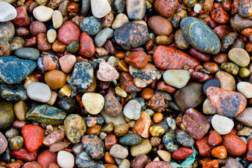Fototapeta Kamienie Pebbles background