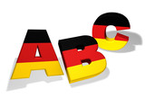 Abc German School Concept