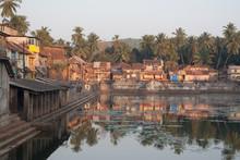 Sacral Pond Koti Tirtha In Gokarna, Uttara Kannada Karnataka
