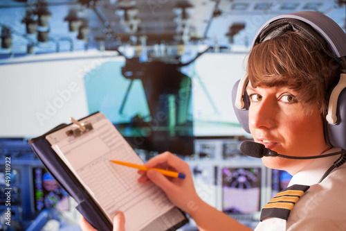 Obraz na plátne Airline pilot