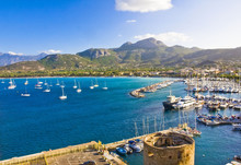 Amazing Calvi Town In Corsica, France