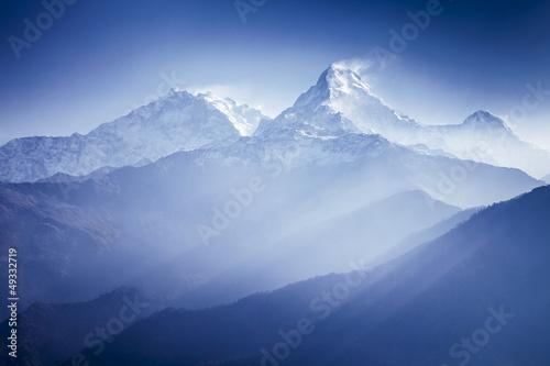 Obraz Góra Annapurna - fototapety do salonu