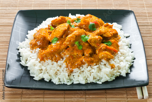 Fotografie, Obraz  Chicken Curry
