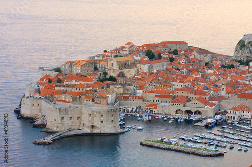 Photo  The Old Town of Dubrovnik, Croatia
