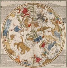 FototapetaVintage celestial map