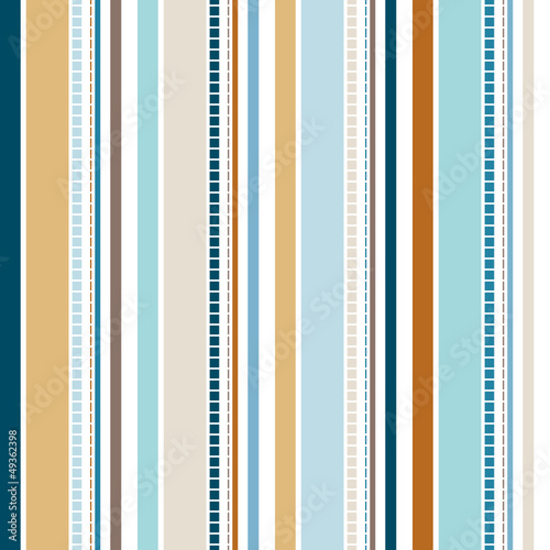 Seamless Stripe Pattern Retro - 49362398