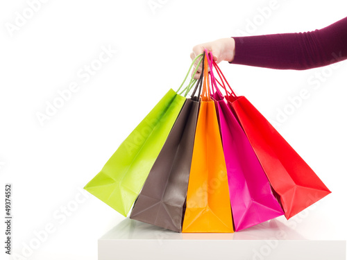 Photo Stands Shopping bags