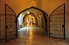 The Jewish Quarter In Jerusalem Israel