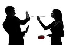 One Couple Man And Woman Tasti...