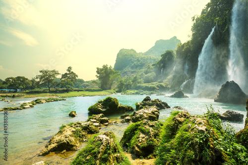 Wodospad w Wietnamie
