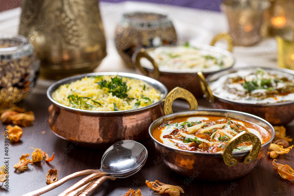 Fototapety, obrazy: indian food