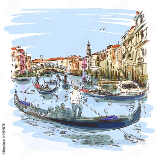 wenecja-grand-canal-widok-na-most-rialto