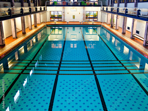 Foto op Plexiglas Stadion Big Indoor Swimming Pool