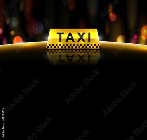 Fotografie, Obraz  Taxi service