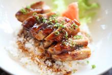 Grilled Chicken Teriyaki Rice ...