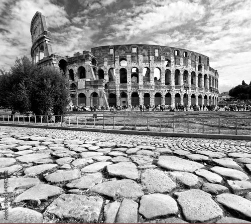 The Majestic Coliseum, Rome, Italy. #49412572