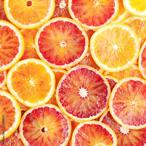 Fotografie, Obraz  Blood orange background
