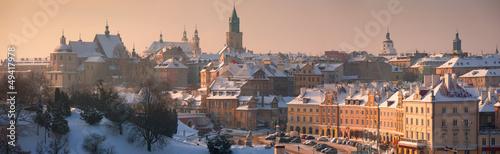 Obraz Panorama of Lublin - fototapety do salonu