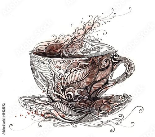 filizanka-kawy-z-kwiatowym-ornamentem