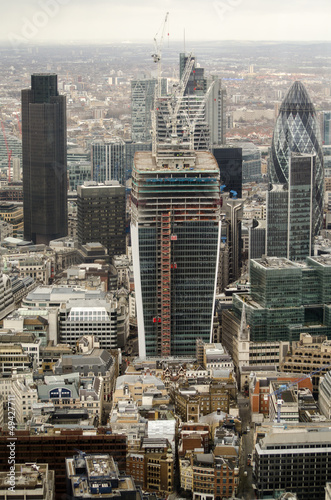 Fototapety, obrazy: Tall Buildings, City of London