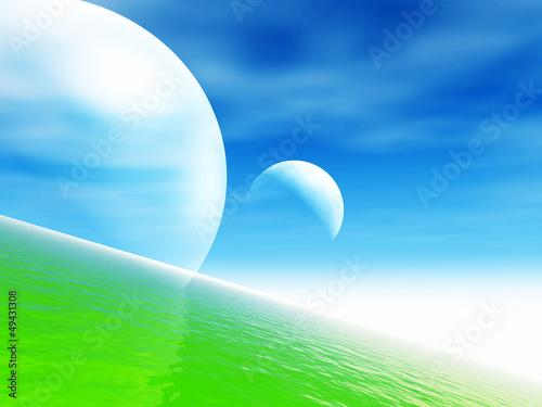 Fantasy landscape - 49431308