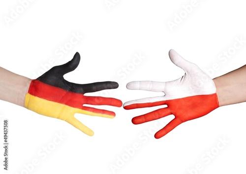 german and polish handshake