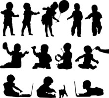 Silhouettes Active Playful Bab...